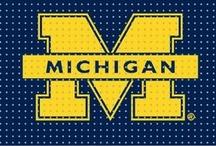 Michigan stuff.... Go blue! / by Karen McClellan