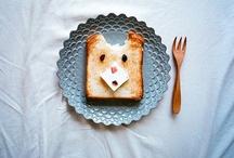 cute foods (>_<) / by Majorika Majenta