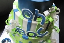 Cakes -Themed -BOYS / Specialty Themed Cakes - for birthdays, groom's cakes, kid b'day, showers etc ... not wedding cakes / by Victoria Susan Leigh