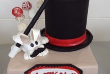 Cakes -TopHat Magic Mustache / Specialty Cakes - Searching for ideas for the Birthday cake for Vencent's 5th - Theme of Mustache Bash with a Magician -- and a bunny / by Victoria Susan Leigh