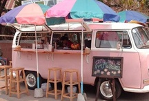 Cool Mobile Food Trucks / We at http://www.coolrooms.nl love  food trucks because:  - it stimulates small start-ups in food - it is an easy way to test new recipes - it offers quality and variety  - it helps create a 'food scene' that benefits all eateries - it adds character to a city - it attracts creative and food loving people - they look great!