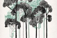 Illustrations, art prints