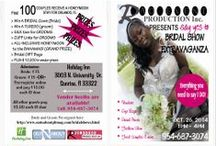 BRIDAL SHOWS -- Wedding Expos - Events / Getting Married? Know someone who is? BRIDAL SHOW EXTRAVAGANZA - Spend the day discovering the best options to make your dream wedding come true! #bridalshows #weddingexpos #ft.lauderdale #brides #grooms