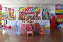PARTY project - Candy Land / LOVE the idea of a candy land themed party! EVERY kid LOVES CANDY!! / by Nikki Workman