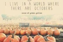 My favorite time of year... / FALL! / by Paige Warden