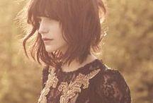 cabelos / penteados | cores