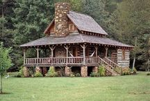 Architecture   Log Homes / Rustic Residential Architecture I admire. / by Jessica Bryant