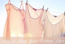 Home Living   Laundry / Laundry Know-How / by Jessica Bryant