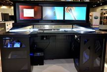 Interiors   Gaming / Gaming Room / by Jessica Bryant