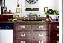 Cabinetry Inspiration / Beautiful inspiration photos dedicated to cabinetry and storage.  Looking for ways to paint and update your kitchen?  You're in the right place!