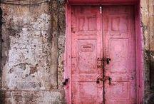 P a s s a g e s / Portals, doorways, thru passages....