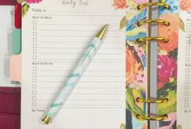 Planning / Planner stuff