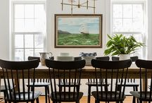 Dining Room Spaces / Dining Room Spaces that would make those extended family meals more bearable!