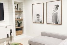 Basement Spaces / All of the best photos to make your basement seem less....basement!