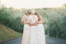 Inspiration // Bridal Party / Bridal party photo inspiration.