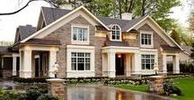 Dream Home Inspiration / If I had all the money in the world, it would be so hard to choose from these home inspiration pins.
