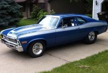 """...My NovaDose !!!! / My '70 Nova SS w/468 BBC Motor...9"""" rear w/4:56 Gears / by Tony Pellinghelli"""