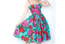 Dresses / Mod and retro dresses from popular and indie clothing designers. / by Mod Retro