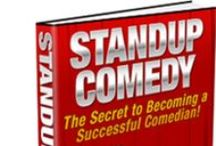 Comedy / Stand-Up Comedy #Comedy #Laughs / by My Lap Shop Publishers