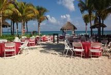 Sandos Caracol Weddings / Make us part of that special event! We want to make your dreams come true.