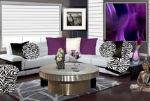 Shades of Purple / Beautiful shades of purple...  Stylish and sophisticated looks, for every room. / by Anything Animals  Decor N Linens