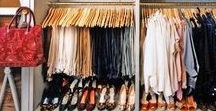 Closets for a Boss Lady / Who wouldn't want a gorgeous and spacious closet? Check out all my favorite dream closets of beautiful design and organization.