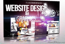Website design / RuberM-design Front page / by ruberM Design