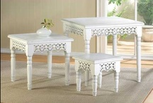 Clean, Elegant, White / by Anything Animals  Decor N Linens