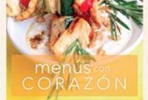 Menús con Corazón 2013 / Descubre todas la recetas de nuestra nueva edición del recetario Menús con Corazón con la colaboración de los mejores blogueros de gastronomía