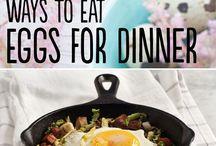 Main Dish- Breakfast for Dinner