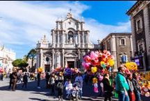 S A N T ' A G A T A / The Festival of Saint Agatha is the most important religious festival of Catania, Sicily.