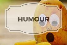 Humour / Jokes and funny pictures of food, as well as things that make me laugh