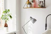 guest bedroom / Inspiration for the guest room.  Clean, simple, cozy, a little Scandinavian.