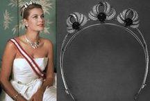 Monegasque Tiaras / Jewellery