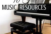 Homeschool-  Music / Mostly FREE and FUN ideas for teaching music !