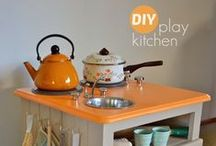 Play Kitchen / by Alison Awesomesauce