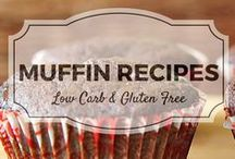 Muffins - Low Carb & Gluten Free / All my favourite low carb and gluten free muffin recipes from Divalicious Recipes plus my favourite recipes from Pinterest. Mostly low carb, clean eating, gluten free, paleo, and diabetic friendly.