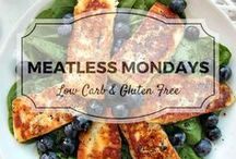 Meatless Monday Recipes / All my favourite vegetarian and vegan recipes from Divalicious Recipes plus my favourite recipes from Pinterest. Mostly low carb, clean eating, gluten free, paleo, and diabetic friendly. Ditch the meat on a Monday and try a vegetarian dish instead!