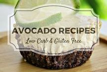 Avocado Recipes / All my favourite avocado recipes from Divalicious Recipes plus my favourite recipes from Pinterest. Mostly low carb, clean eating, gluten free, paleo, and diabetic friendly.