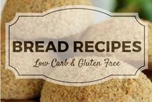 Bread (grain free & low carb) / All my favourite low carb  and gluten free bread recipes from Divalicious Recipes plus my favourite recipes from Pinterest. Mostly low carb, clean eating, gluten free, paleo, and diabetic friendly.