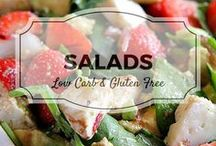 Salads / All my favourite salad recipes from Divalicious Recipes plus my favourite recipes from Pinterest. Mostly low carb, clean eating, gluten free, paleo, and diabetic friendly.