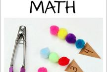 Littles-  Numbers Fun / How to teach shapes, number recognition, and counting to your preschoolers.