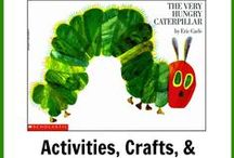 Littles- Book Units / Preschool Books Units  Ideas for activities, crafts, songs, snacks, and more !