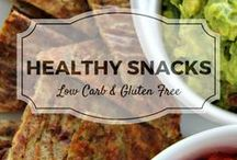 Healthy Snacks / All my favourite low carb and gluten free healthy snacks recipes from Divalicious Recipes plus my favourite recipes from Pinterest. Mostly low carb, clean eating, gluten free, paleo, and diabetic friendly.