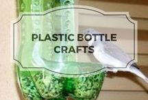 Plastic Bottle Crafts / Crafting with plastic bottles.  Recyle and re-use not throw away