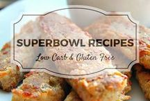 Superbowl Recipes / A selection of low carb and gluten free recipes perfect for the Superbowl. Mostly low carb, clean eating, gluten free, paleo, and diabetic friendly.