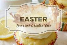 Easter Recipes / All my favourite Easter low carb & gluten from Divalicious Recipes plus my favourite recipes from Pinterest. Mostly low carb, clean eating, gluten free, paleo, and diabetic friendly.
