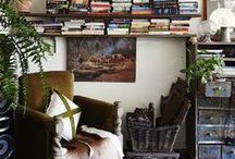 bookshelves / Bookshelf and book styling ideas