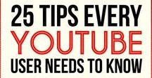 YouTube Education / Getting started on YouTube has never been easier than with this pin board.
