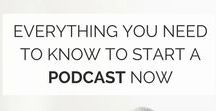 PodcastIng ideas / Everything you need to know about Podcasting is in this board!